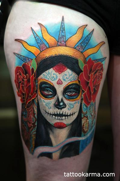 Tattoos - Day of dead - 99948