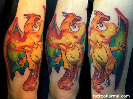 Tattoos - Dragon tattoo - 84190