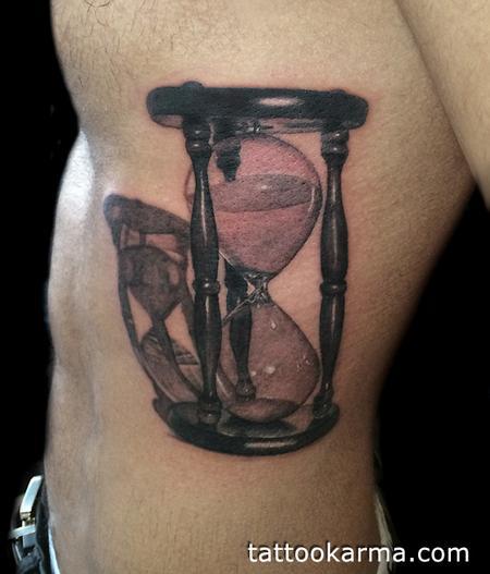 Tattoos - Hourglass tattoo - 84412