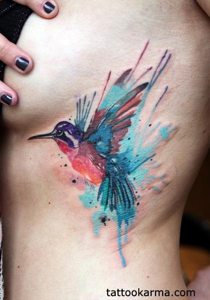 Tattoos - Hummingbird tattoo - 100117