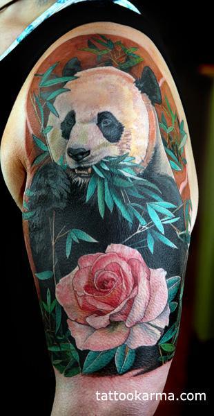 Tattoos - Panda tattoo - 100083