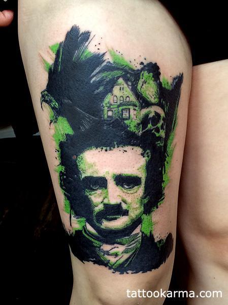 Tattoos - Edgar Alan Poe - 97674