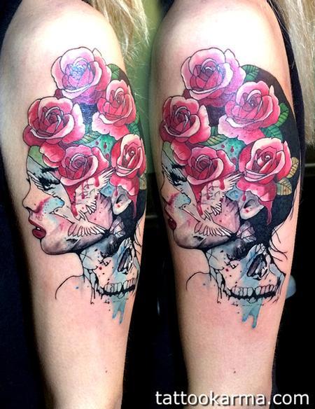 Tattoos - Girl - 98779