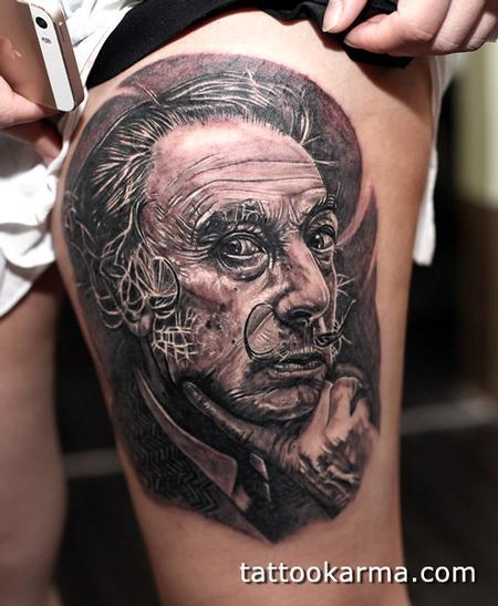 Tattoos - Salvador Dali - 94203