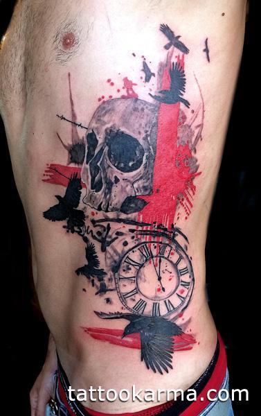 Tattoos - Skull tattoo - 93752