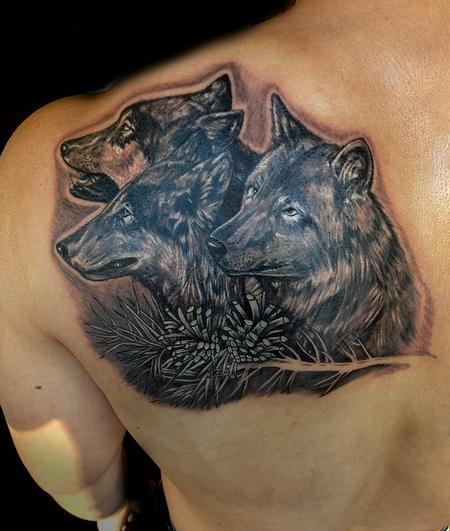 Tattoos - Wolfs pack - 79612