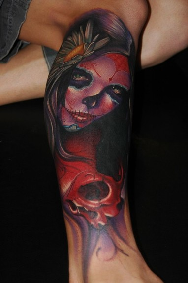 Tattoos - Day of the Dead - 52821