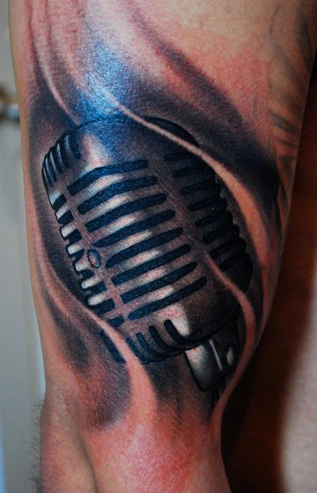 Tattoos - Microphone - 57374