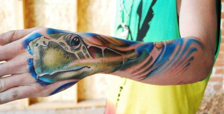 Tattoos - Sea Turtle - 57363