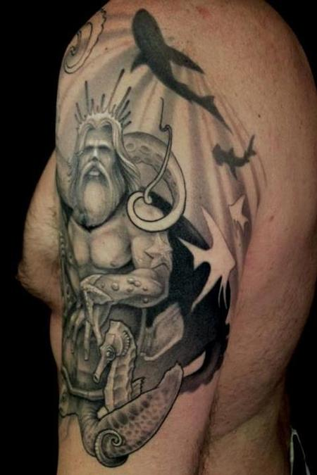 Tattoos - neptune - 67818