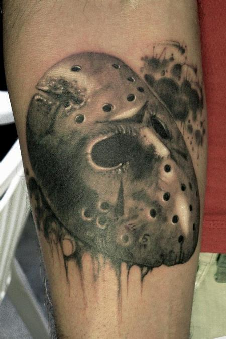 Tattoos - Jason's mask - 67133