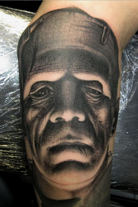 Tattoos - franky the monster - 67826