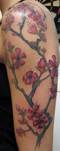 Tattoos - more cherry blossom branches! - 26257
