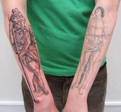 Tattoos - Saints - 14725