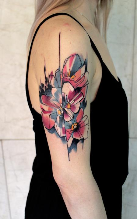 Tattoos - cherry blossom - 117750