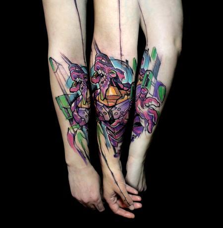 Tattoos - eva 01 neon genesis evangelion - 117745