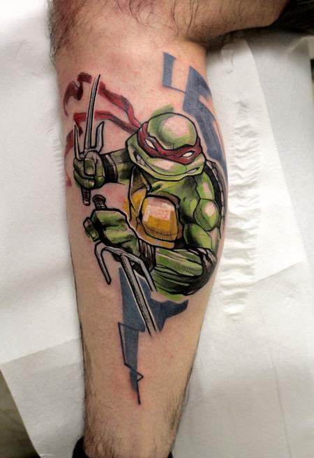 Tattoos - Raphael. Ninja turtles - 117748