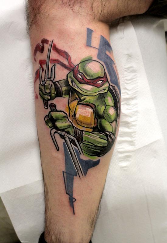 Raphael Ninja Turtles By Mirco Campioni Tattoonow