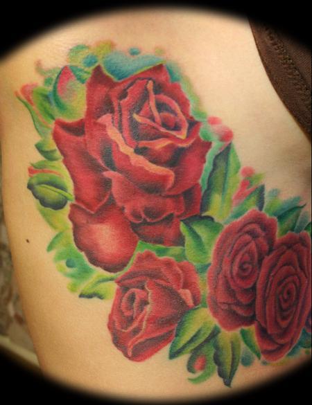 Tattoos - Monique's roses  - 59872