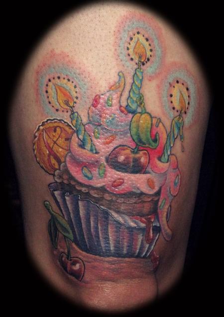 Tattoos - Stephens Cupcake - 58396