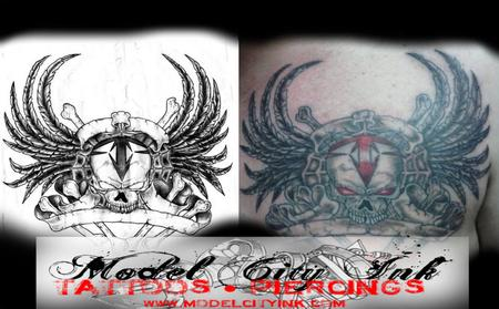 Tattoos - Chaos Skull - 131595