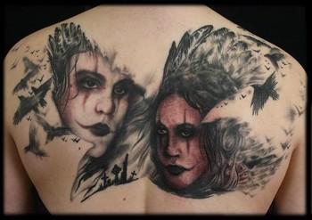Tattoos - Crow Tattoo - 38606