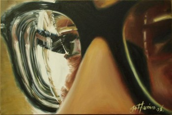 Jo Harrison - Glasses Art