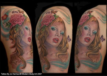Tattoos - Woman - 35496