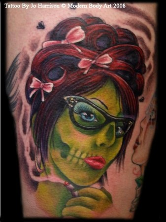 Tattoos - Zombie Pinup - 34698