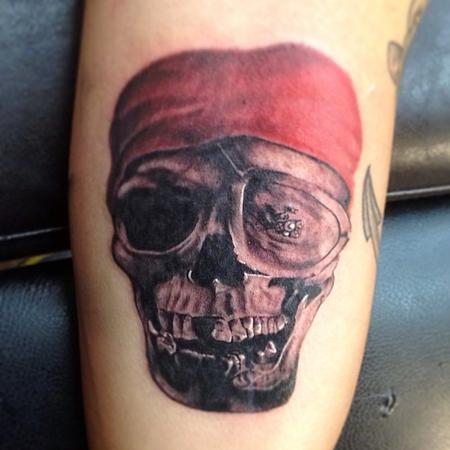 Tattoos - One eyed willy from the goonies tattoo from cesar perez in keene ,NH - 78599