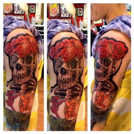 Tattoos - grateful dead tattoo - 74436