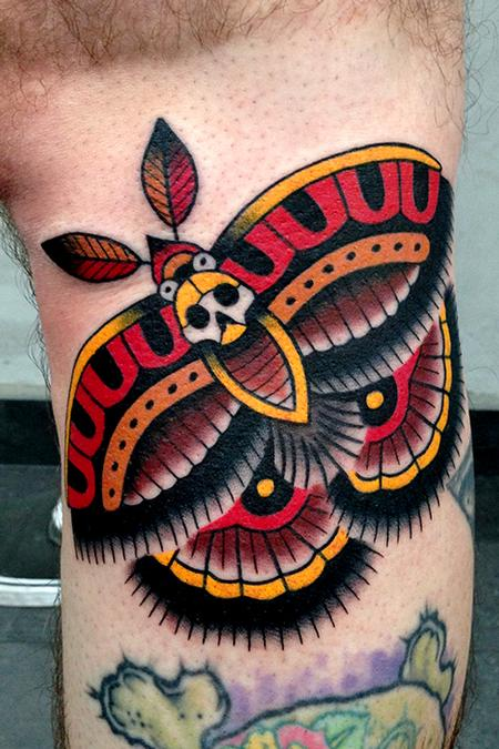 Tattoos - moth tattoo - 80785