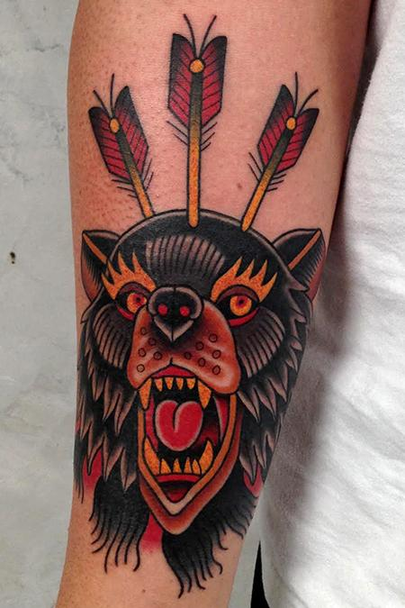 Tattoos - mad bear - 84330