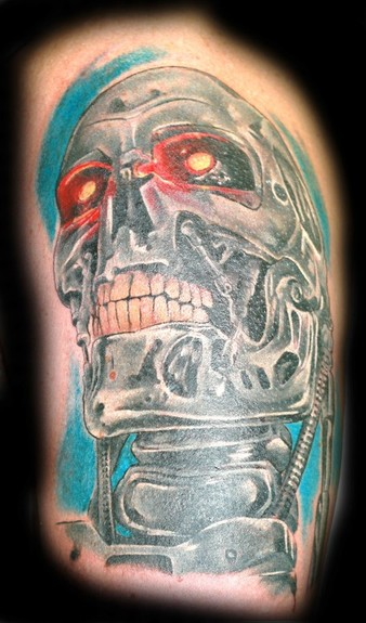 Tattoos - Terminator Tattoo - 51995