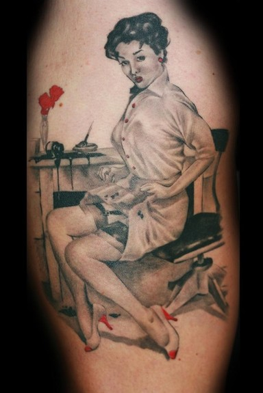 Tattoos - Pinup Tattoo - 51997