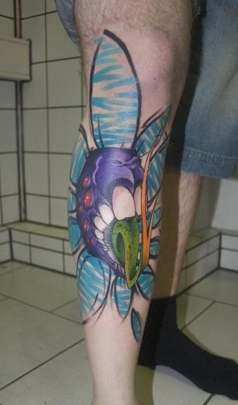 Mark Halbstark - Rabid Flower Tattoo