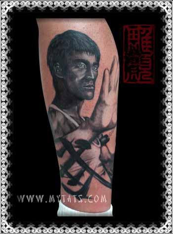 Tattoos - Bruce Lee  - 29417