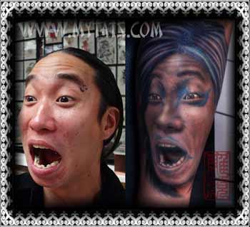 Tattoos - Ahh!! Portrait - 29288