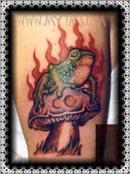 Tattoos - Toad on Stool - 29482