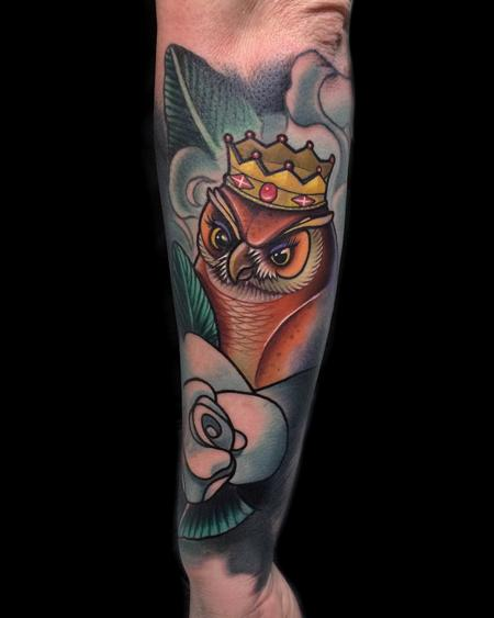 Tattoos - Queen Owl - 108183