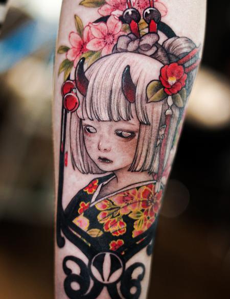 Tattoos - Devil Girl Tattoo - 142958