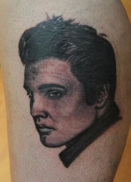 Tattoos - elvis - 58248