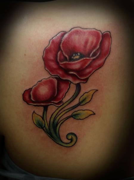 Tattoos - Popply Flower - 69767