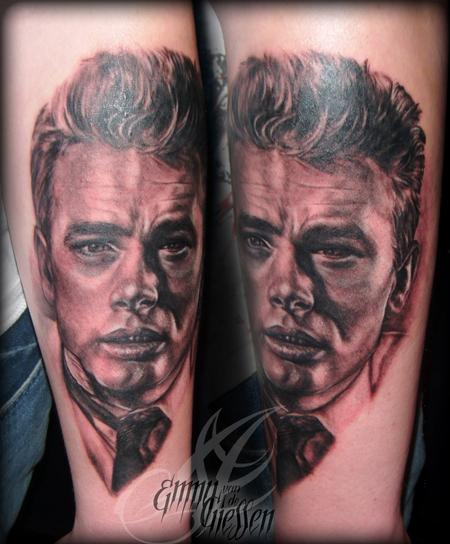 Tattoos - The Dean, James Dean - 64710
