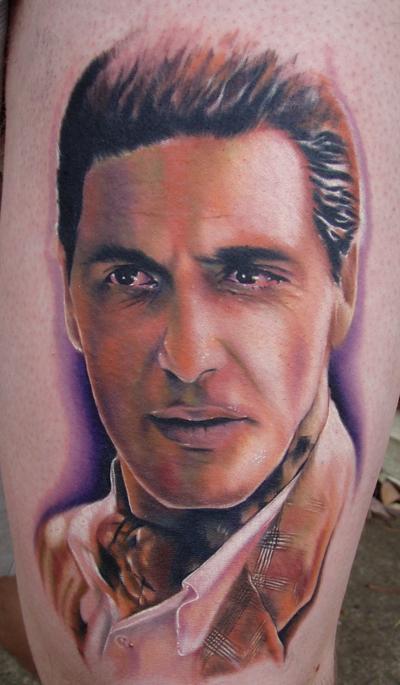 Tattoos - Al Pacino from Godfather II - 26061