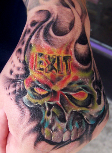 Tattoos - Exit Only - 22608