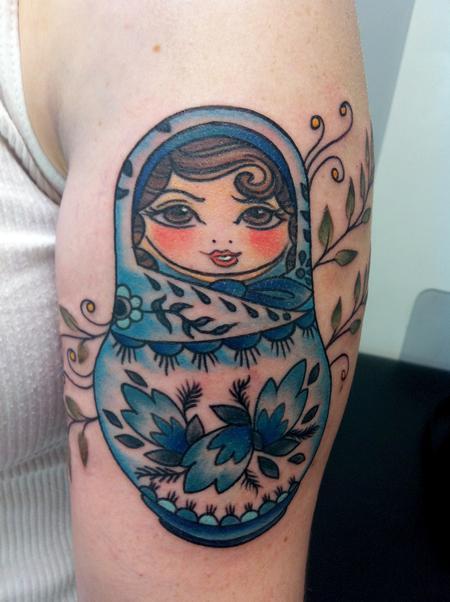 Tattoos - Polish Nesting Doll - 61085