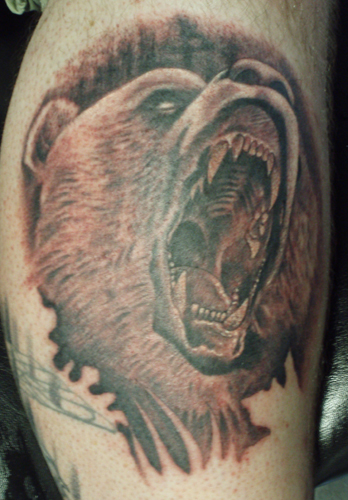 Tattoos - Grizzly - 33136
