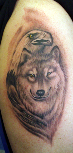 Tattoos - EagleWolf - 30577