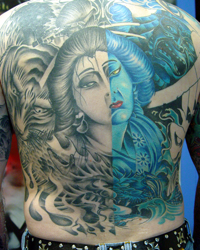 Tattoos - Eric's backpiece - 18104